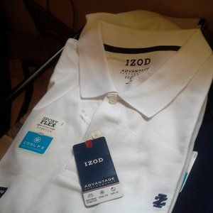 IZOD NEW SHORT SLEEVES POLO SHIRT COOL FX